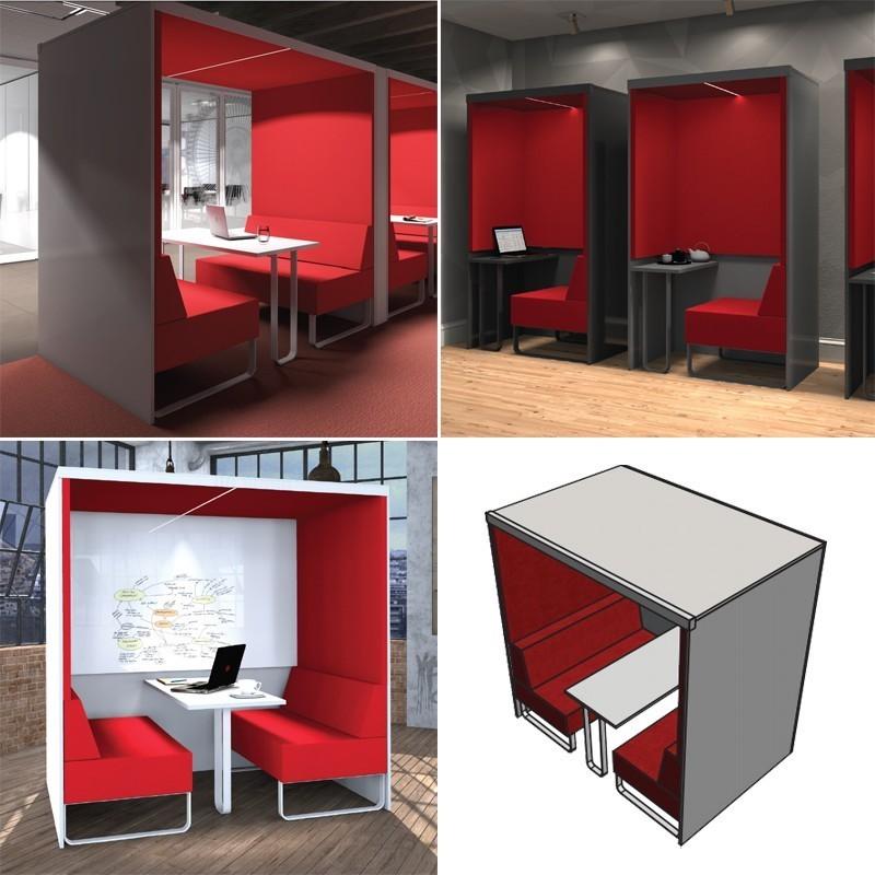 Venture Perspex Desk Screen