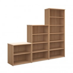 Wood Effect Standard Bookcase