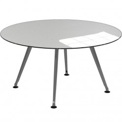Christiansen Glass Circular Table