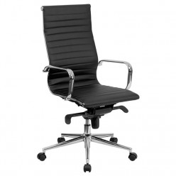 Aria Classic Leather Chair black