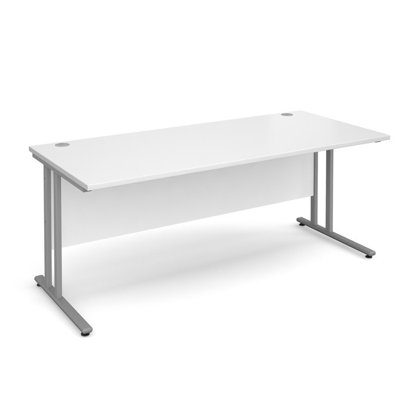 Cantilever Straight Desk