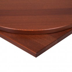 26mm Walnut Effect Solid Wood