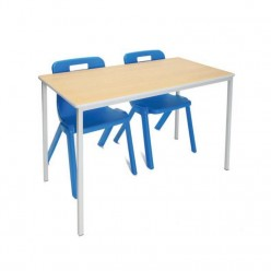 Sprayed Polyurethane Edge Classroom Tables