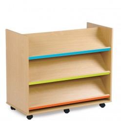 Angled Library Unit