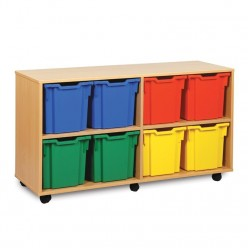 8 Jumbo Tray Storage Unit