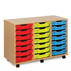 21 Shallow Tray Storage Unit