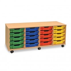 20 Shallow Tray Storage Unit