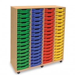 64 Shallow Tray Storage Unit