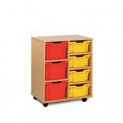 7 Tray Storage Unit