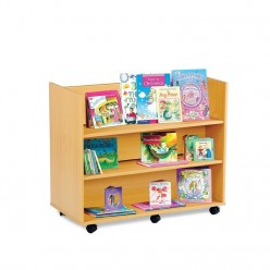 Library Unit with 3 Shelves