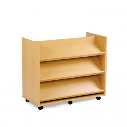 Library Unit with 3 Angled...