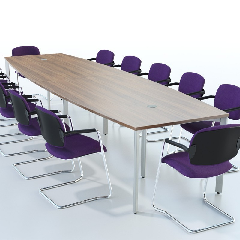 Extendular Barrel Conference Table