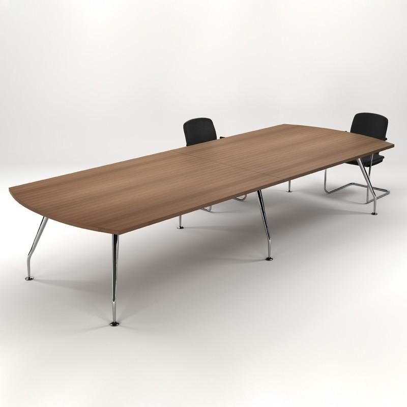 Zenith D-End Table