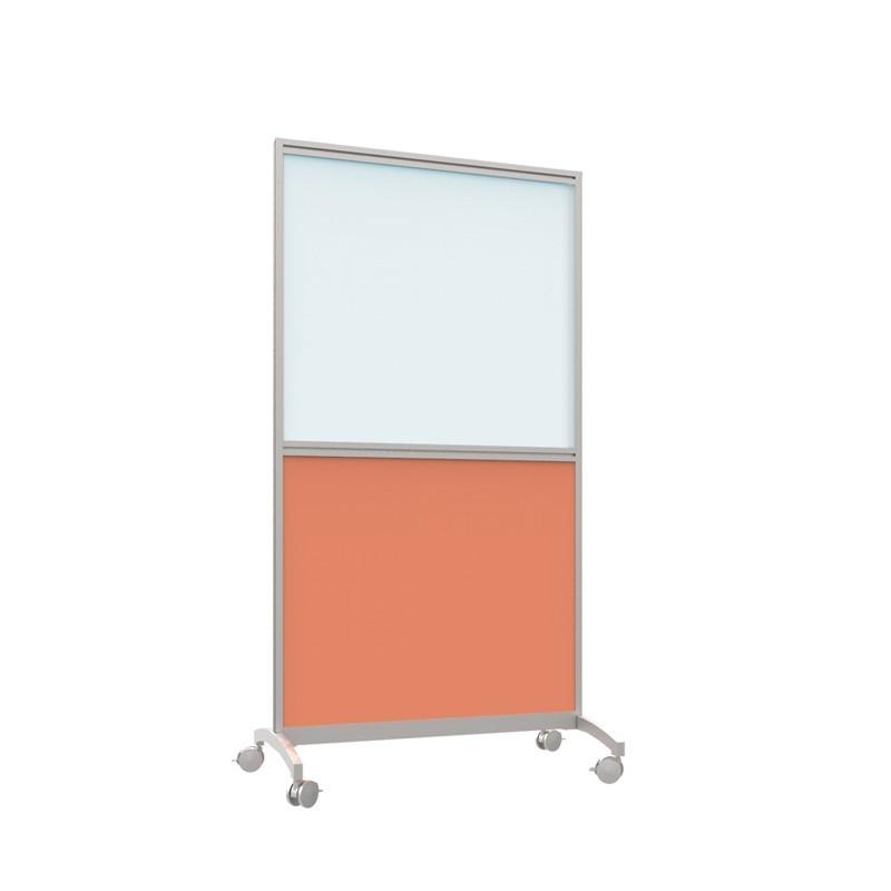 Shroud Mobile Half Glazed Screen