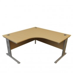 G5 Wire Managed Corner Desk