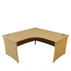 G5 Curved Panel End Corner Desk