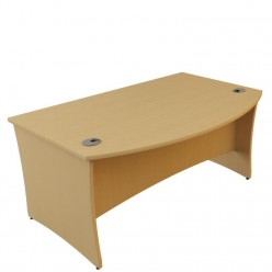 G5 Curved Panel End Meeting Desk