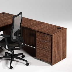 S1 Panel End Return Desk