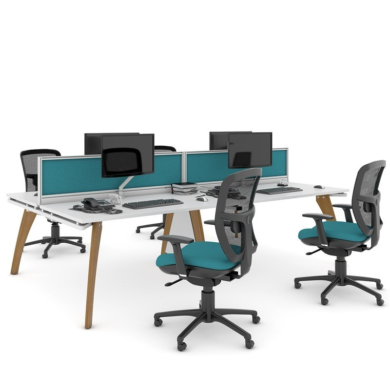 Fusion Quad & 4 Chairs