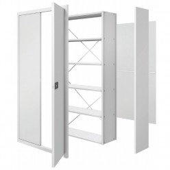 Wesgarre Industrial Shelves - Double Doors