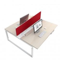 G8 O-Leg Double Desk