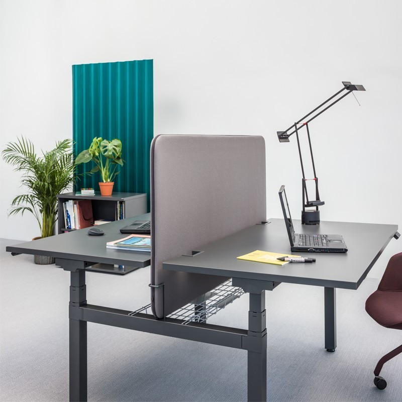G8 Sit Stand Double Desk