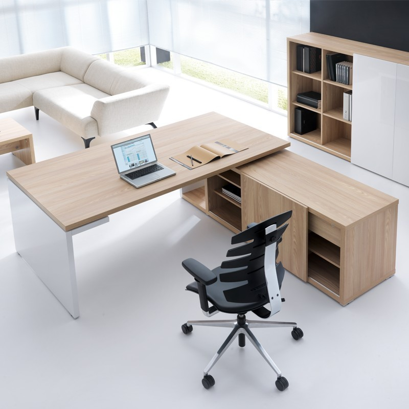 G8 Desk With Cabinet