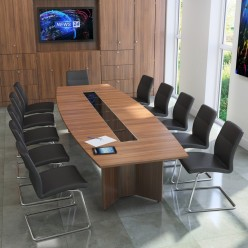 Jornsen Barrel Boardroom Table