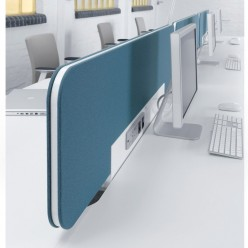 D9 Twin Desk Screens