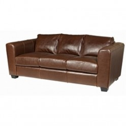 Lewis Leather 3 Seater