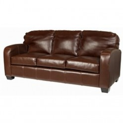 Harris Leather 3 Seater