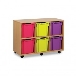 6 Tray Jumbo Storage Unit