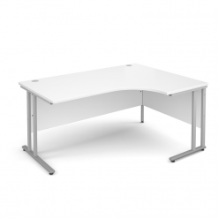 Systems Line Crescent Desk
