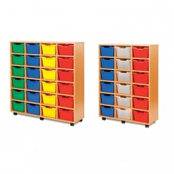 Large Cubby Storage Unit