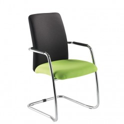 Paris High Back Cantilever Chair