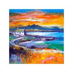 A Jura Sunset from Port Nan...