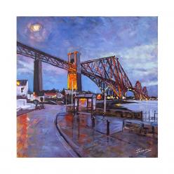 The Rail Bridge from North...