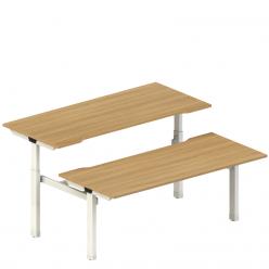 Tek Sit Stand Double Desk