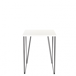 Hairpin Square Office Table