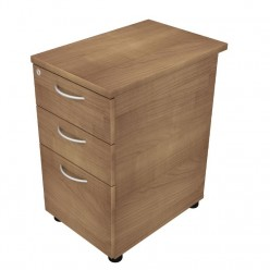 Dom Beam Desk High 3 Drawer Pedestal