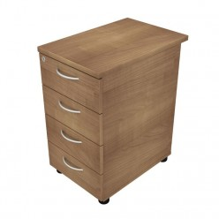 Dom Beam Desk High 4 Drawer Pedestal