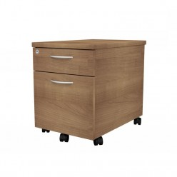 Dom Beam Mobile 2 Drawer Pedestal