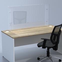 Venture H Desk Barrier