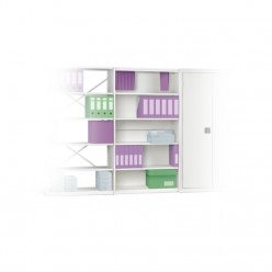 Wesgarre Industrial Shelves 900 - Closed Clad