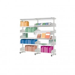 Vexilyn Library Shelving System