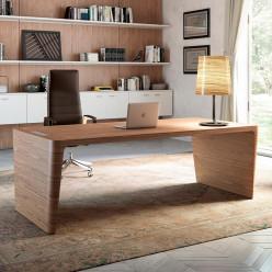 Wood Veneer Rectangular Desk