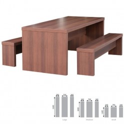 Hannilon Table and Bench Set