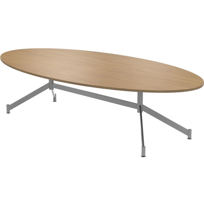 Christiansen V-Base Oval Table