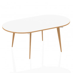 DY4 Modular Oval Meeting Table