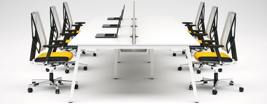 V1 Angled Bench Desk Range